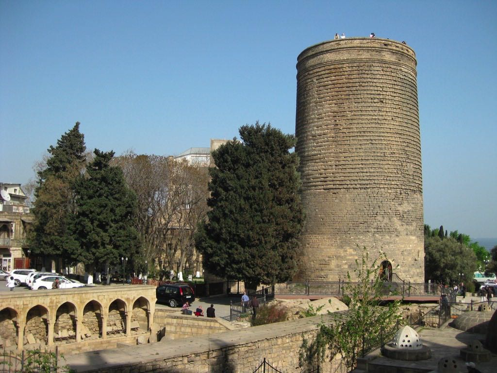 Maiden Tower, Baku - by Nick Taylor:Flickr