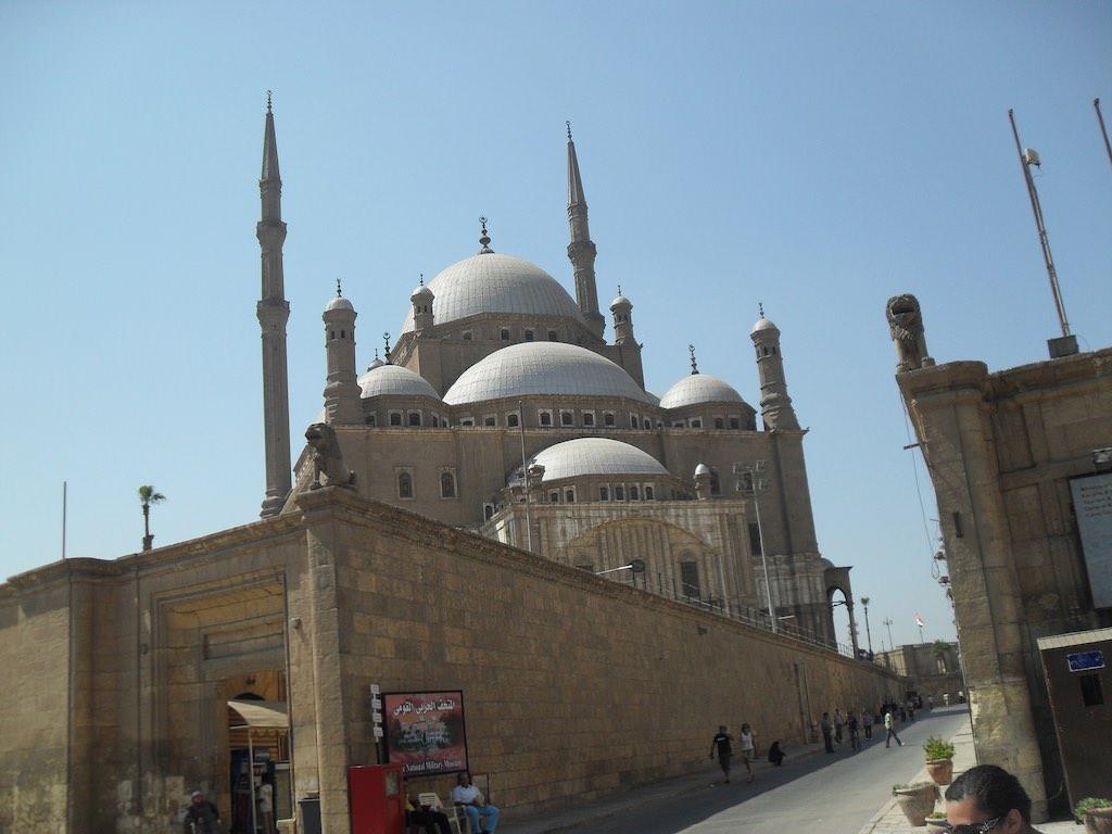 Mosque Of Muhammad Ali - by Mark Muehlhaeusler:Flickr