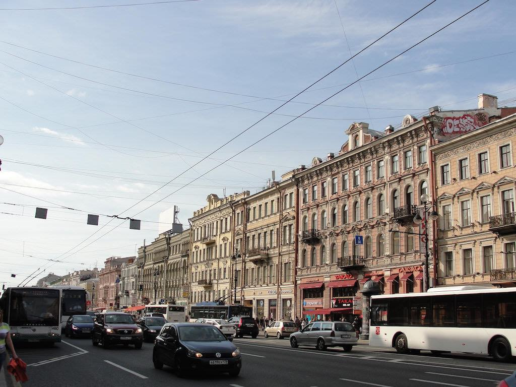 Nevsky Prospect, St. Petersburg - by RachelH_ :Flickr