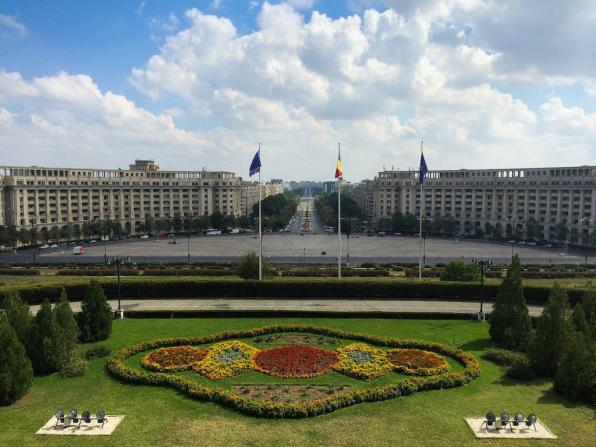 Palace of Parliament, Bucharest - by hendry_670:Flickr