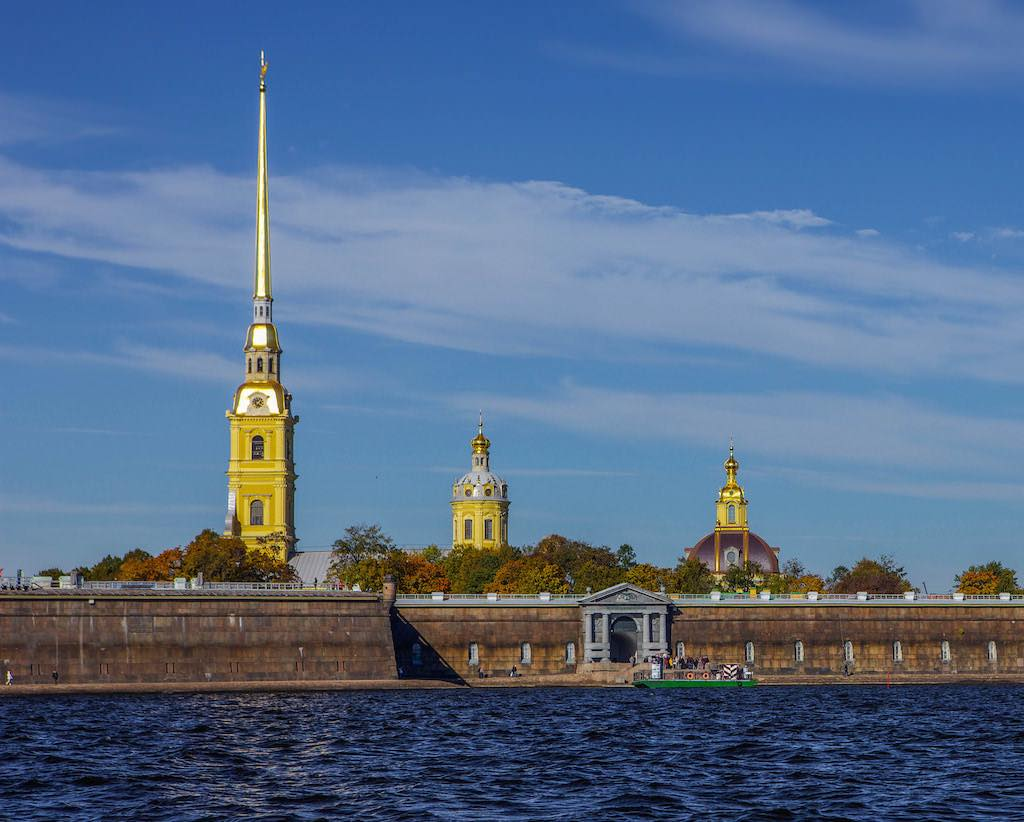 Peter and Paul Fortress, St. Petersburg - by ninara:Flickr