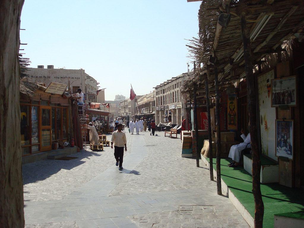 Souq Waqif, Doha - by John Mahaffie - jbmahaffie:Flickr