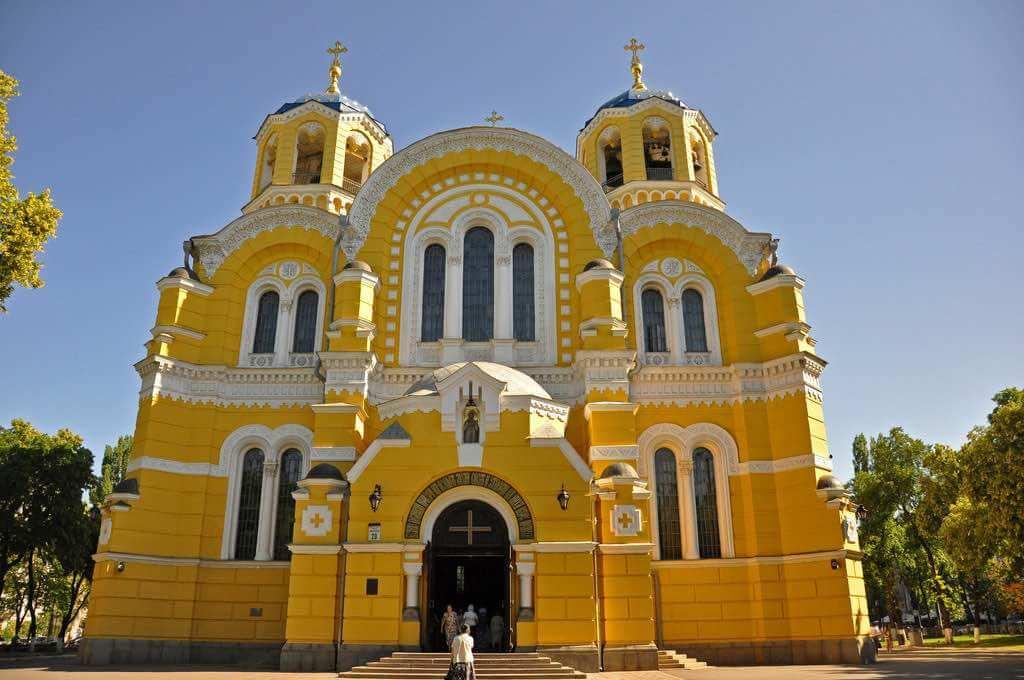 St. Volodymyr's Cathedral, Kiev - by Jennifer Boyer - Anosmia:Flickr