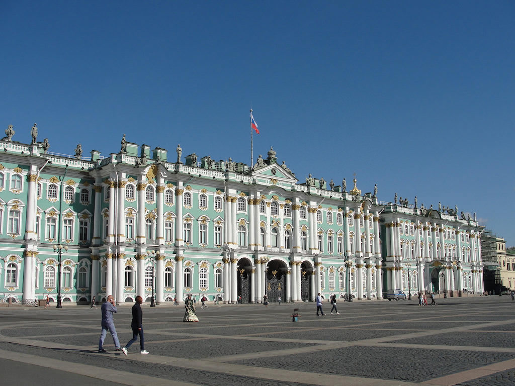 Winter Palace, St. Petersburg - by RachelH_ :Flickr