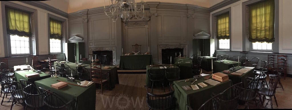 Independence Hall, Phildaelphia - by WOW Travel