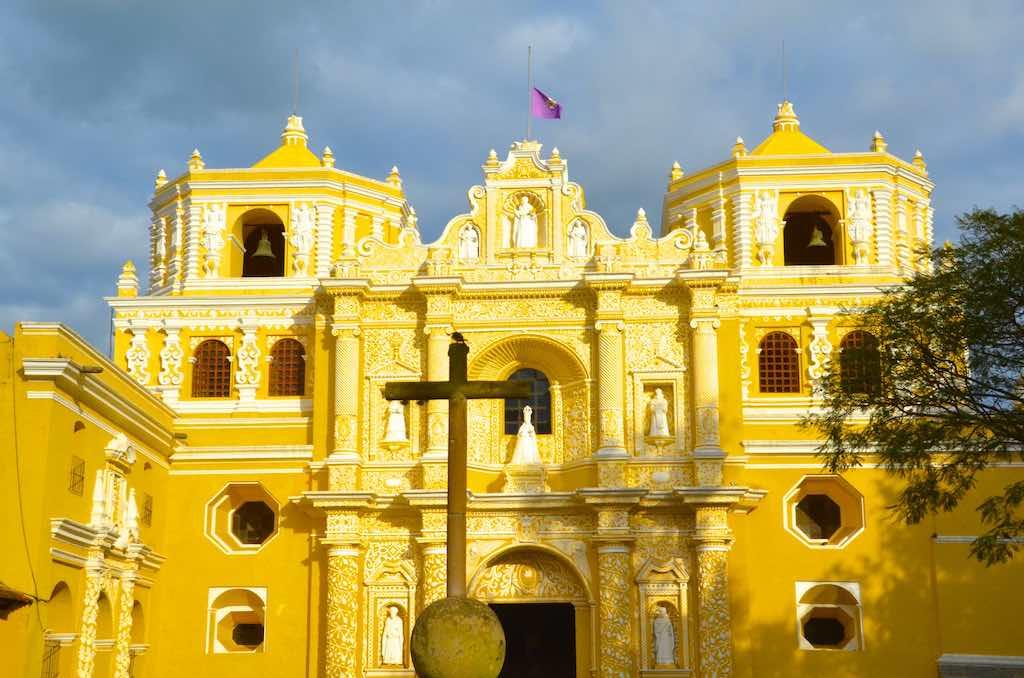 La Merced Church, Antigua - by David Amsler - amslerPIX77:Flickr
