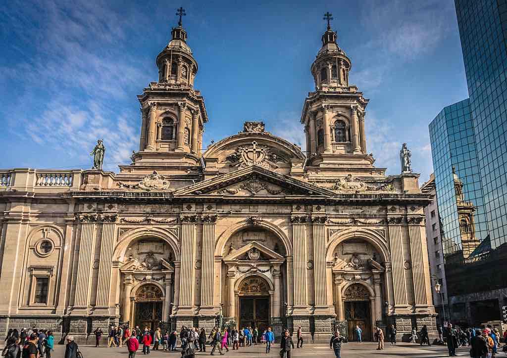 Metropolitan Cathedral, Santiago - by GameOfLight:Wikimedia