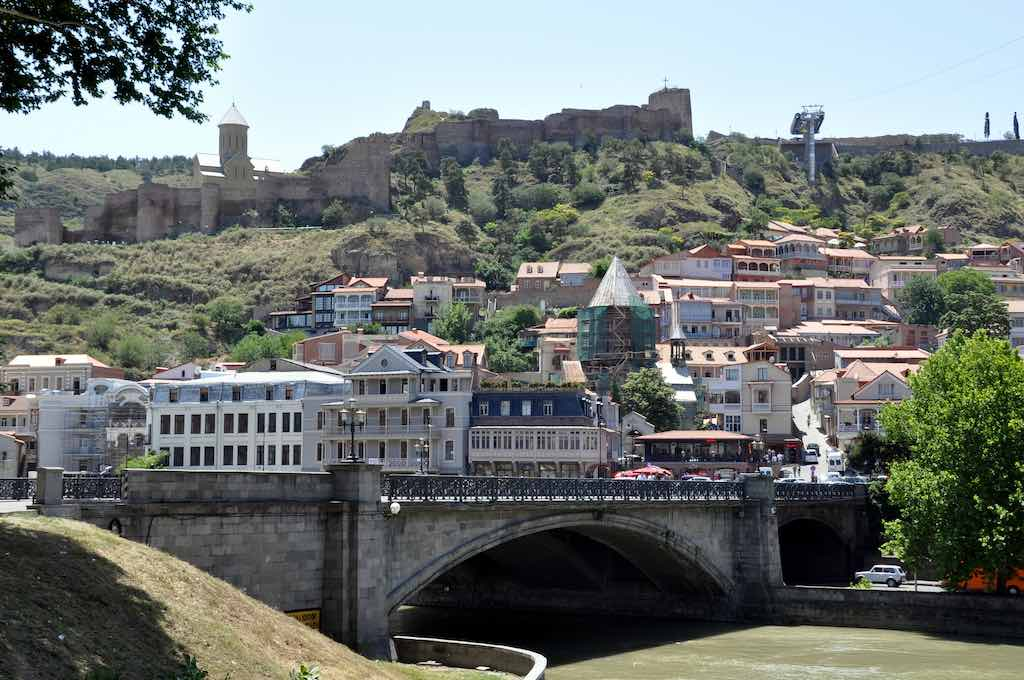 Narikala Fortress, Tbilisi - by William Carraway :Flickr
