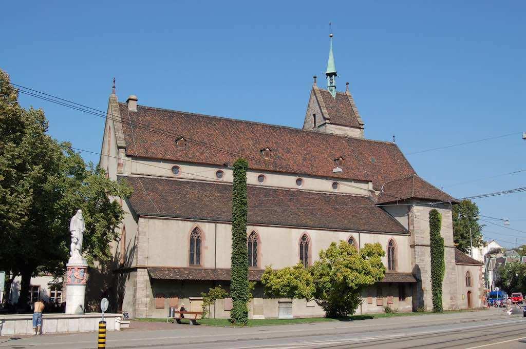 Theodorskirche, Basel - by Norbert Aepli:Wikimedia