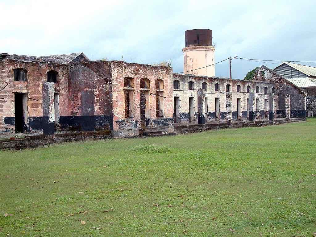 Transportation Camp, French Guiana - by Sébastien MAENNE:Wikimedia
