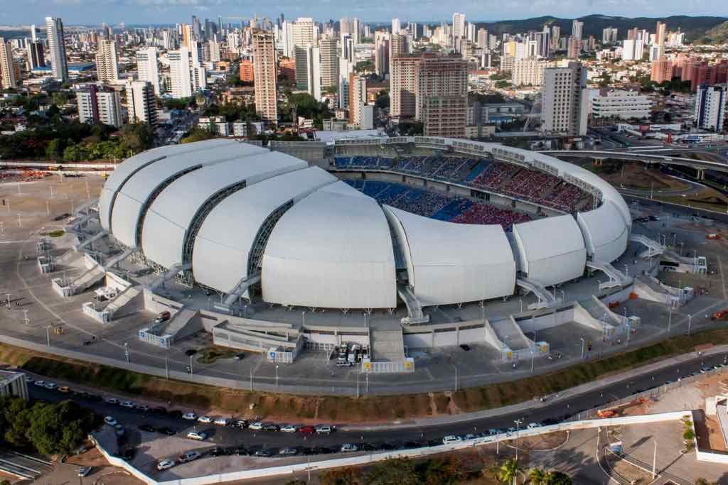 Arena das Dunas, Natal, Brazil - by