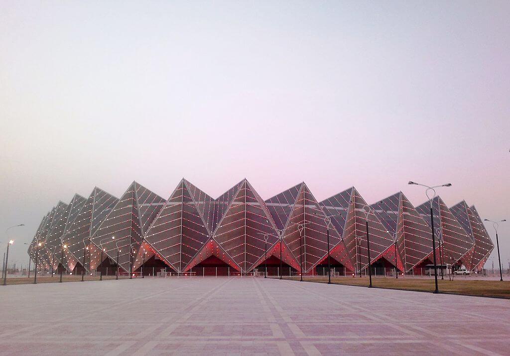 Baku Crystal Hall, Baku, Azerbaijan - by GMP International GmbH - Interfase:Wikimedia