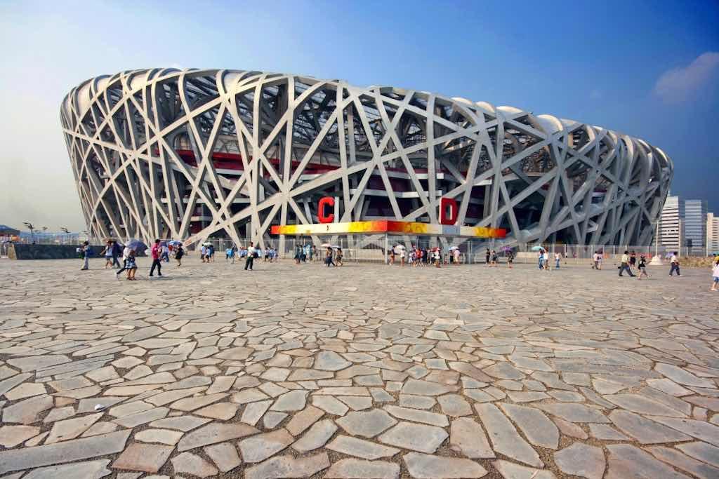 The Bird's Nest (Beijing National Stadium), Beijing - by Wojtek Gurak:Flickr