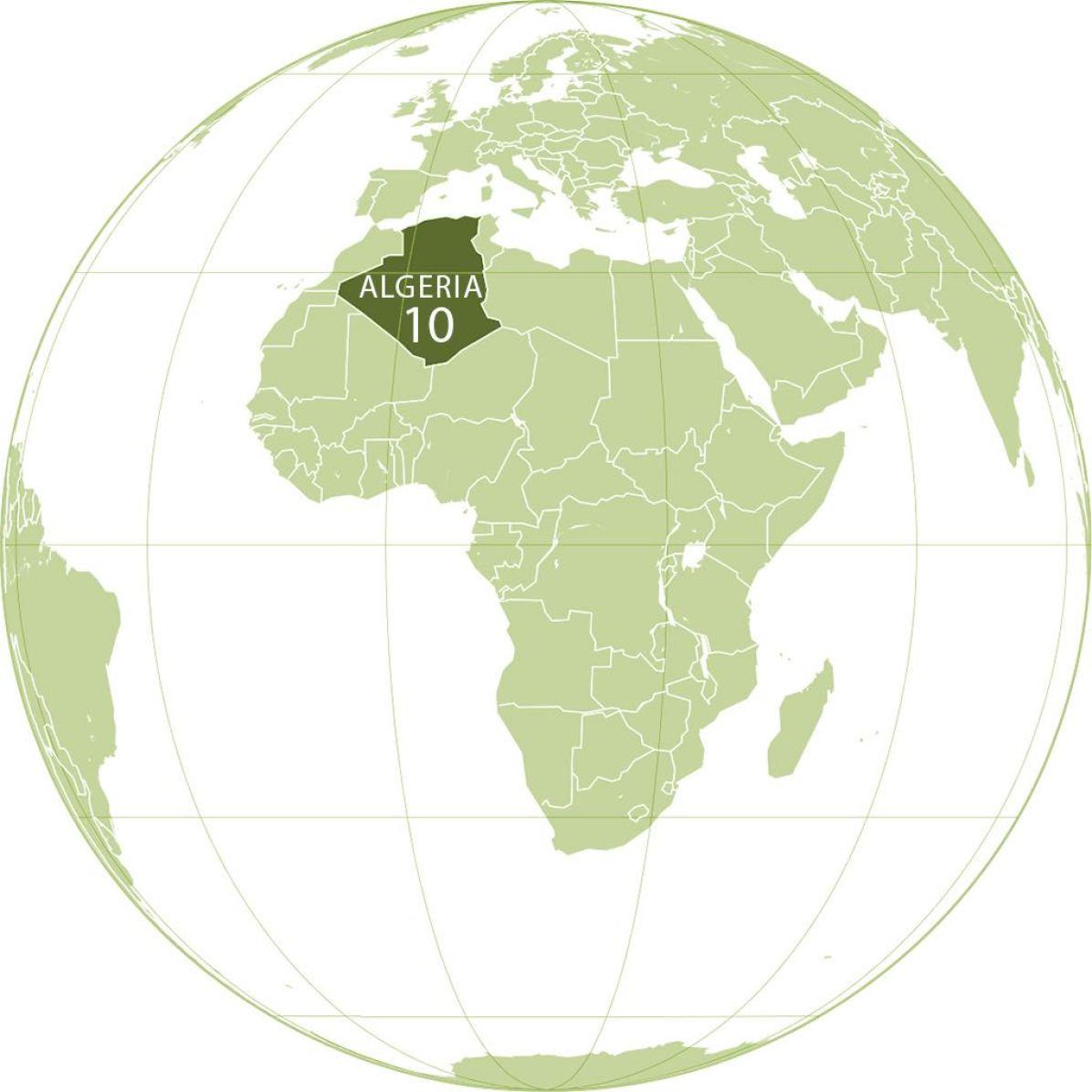 Algeria World Map - by L'Américain/Wikimedia