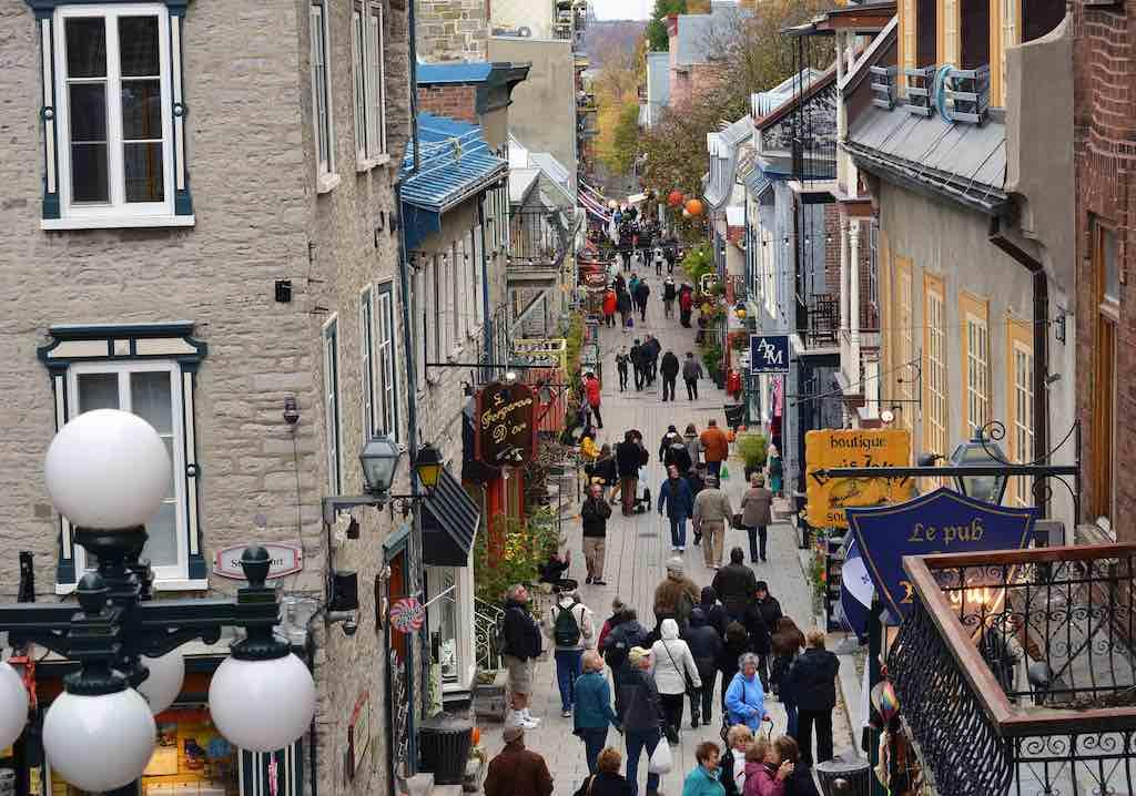 Quartier Petit-Champlain, Quebec City - by Harvey Barrison - HBarrison:Flickr