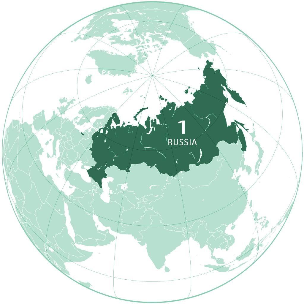 Russia World Map - by FutureTrillionaire/Wikimedia