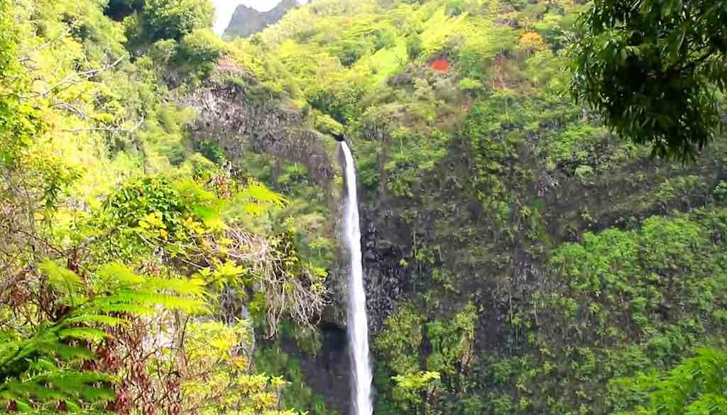 Fautaua Waterfall, Tahiti