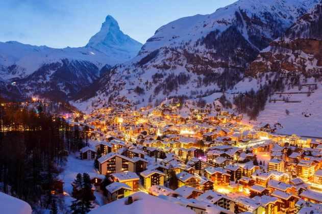 Winter Time in Zermatt, Switzerland - by Loïc Lagarde:Flickr