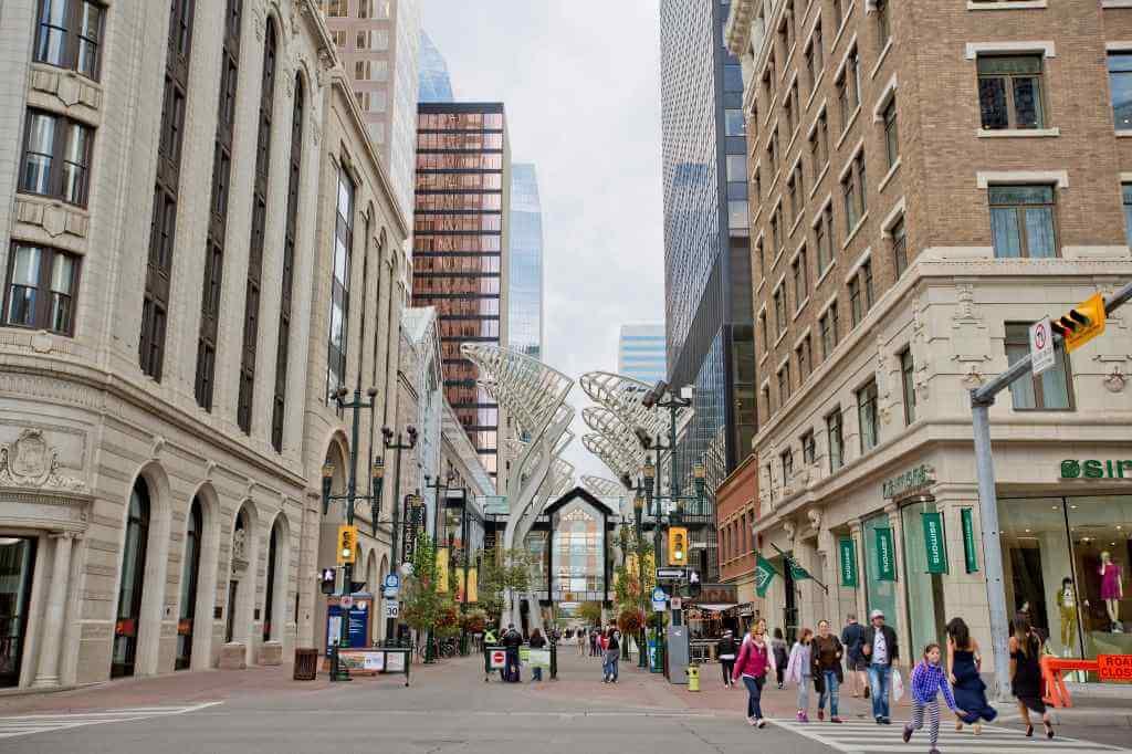Stephen Avenue Walk, Calgary -by GoToVan/Flickr.com