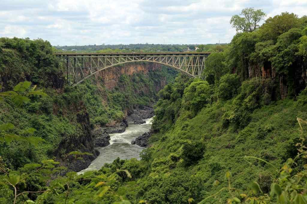 Victoria Falls Bridge, (Zambia-Zimbabwe) -by flowcomm/Flickr.com