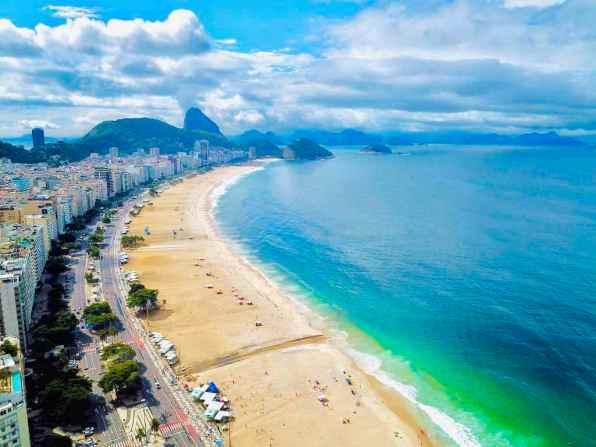 Copacabana Beach, Rio -by WOW Travel