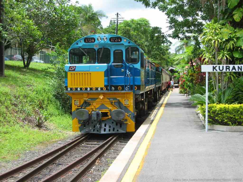 Kuranda Scenic Railway, Cairns, Queensland, By Kelisi, commons.wikimedia