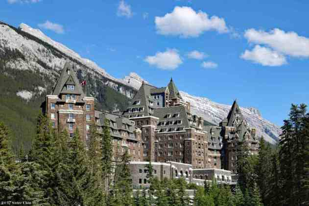 Fairmont Banff Springs Hotel, Canada -by Can Pac Swire/Flickr.com