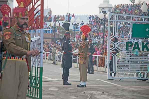 India Pakistan Border -by Koshy Koshy/Flickr.com
