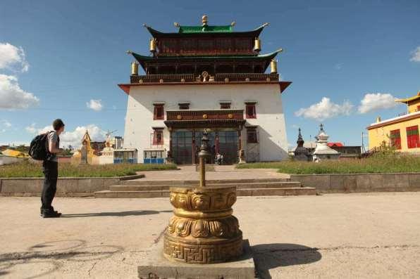 Gandan Khiid Monastery -by Julie Laurent/Flickr.com