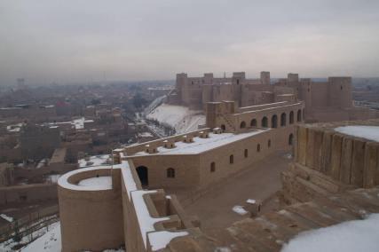 Herat Citadel -by Todd Huff/Wikipedia.org
