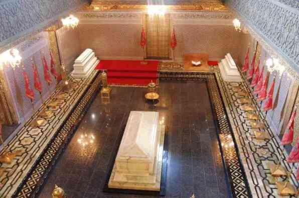 Mausoleum of Mohammed V -by Andrzej Wójtowicz/Flickr.com