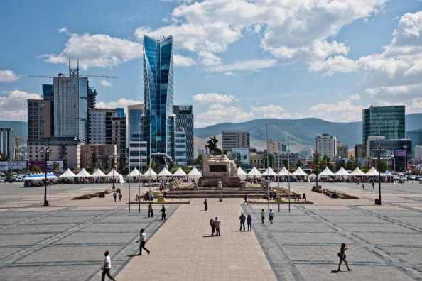 Sukhbaatar Square -by Marco Fieber/Flickr.com