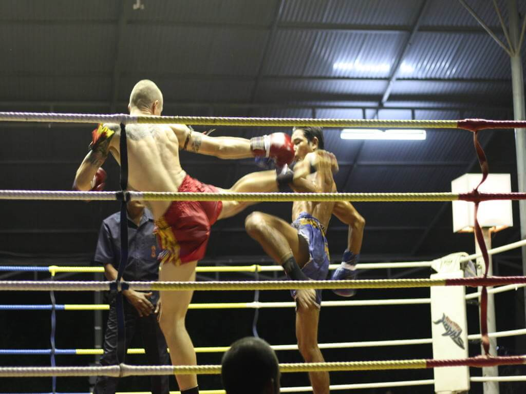 Thai Kickboxing, Phangan -by Joe Stump / Flickr.com