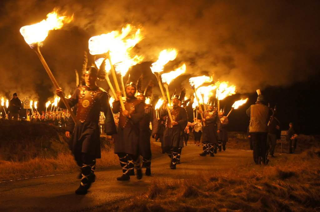 Up Helly Aa Fire Festival, Scotland -by Mike Pennington/geograph.org.uk