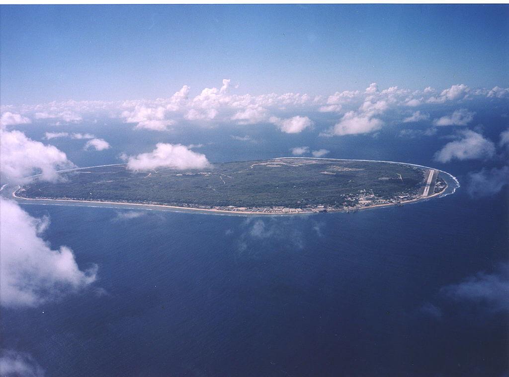 Aerial view of Nauru, Nauru - by U.S. Department of Energy / wikimediacommons.com