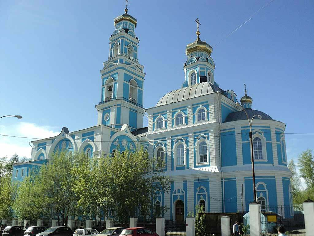 Church of the Ascension, Yekaterinburg - by Михаил Бессонов / Wikimedia Commons