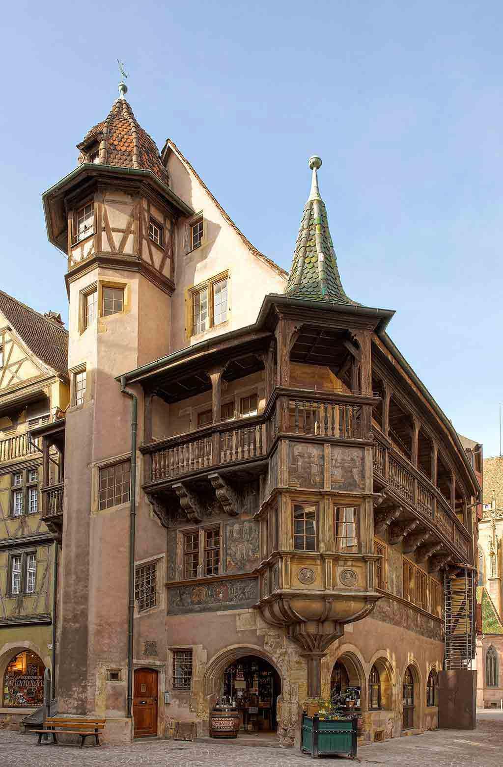 Maison Pfister in Colmar by Eric Gaba/Wikimedia.org