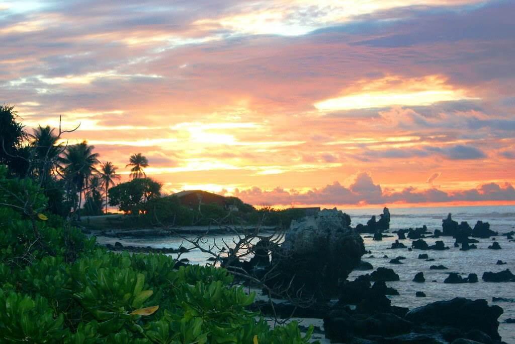 Sunset in Nauru, Nauru - by Angela Spaulding / flickr.com