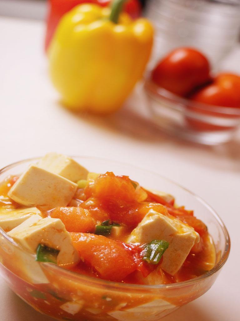 番茄豆腐 - 哇菜影音食譜