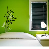 Bamboo Wall decal - Removable Wall Stickers and Wall Decals