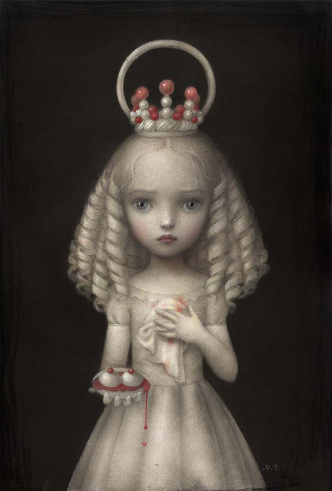 Cute Doll Wallpaper Pic Nicoletta Ceccoli Artist Profile Wow X Wow