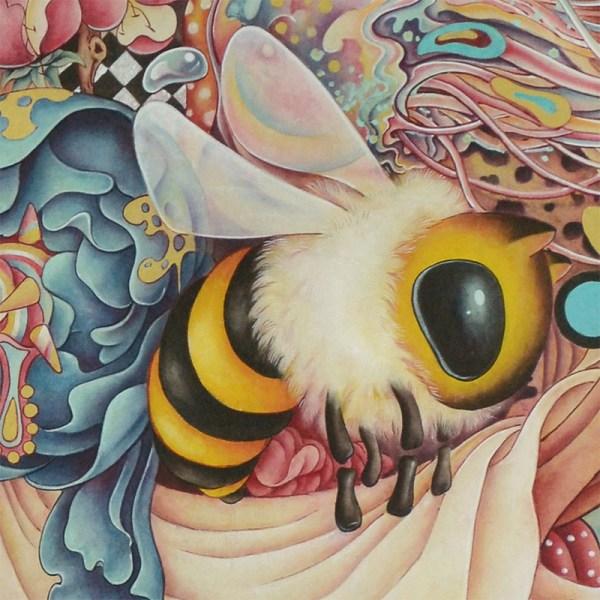 ' Rabbit' Garden' Fine Art Print Alice Lin - Wow