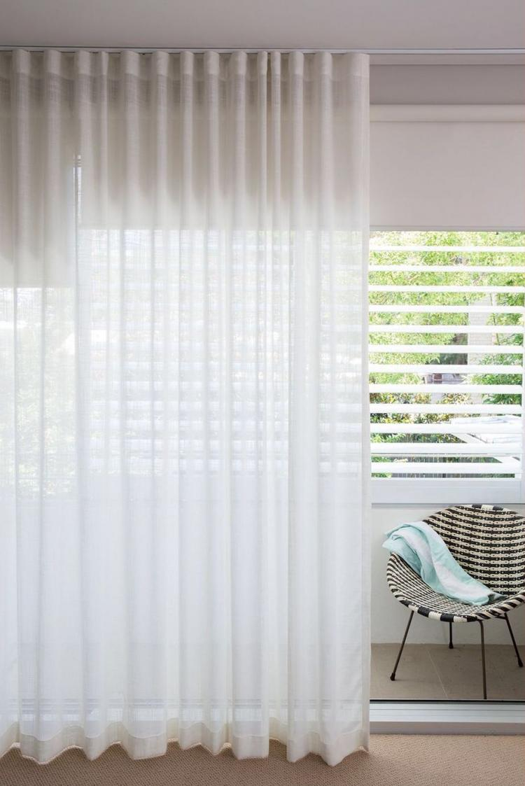 65 cozy white curtain for bedroom and