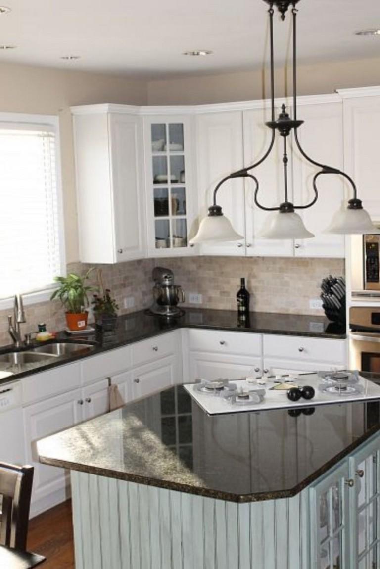 70 Stunning Kitchen Light Cabinets with Dark Countertops Design Ideas