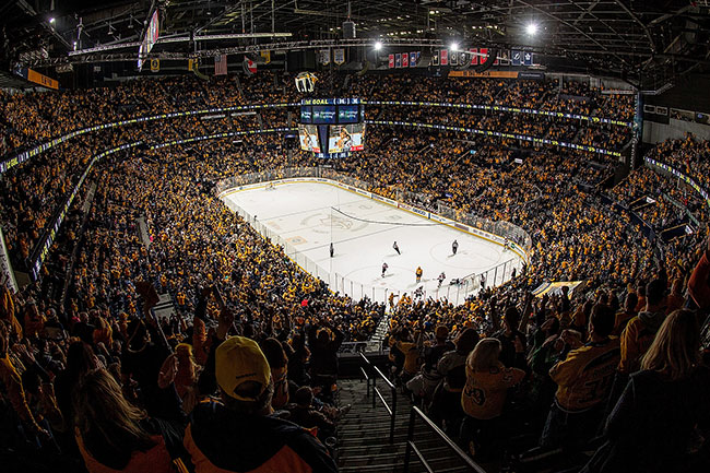 North Dakota, Penn State to play 2020 U.S. Hockey Hall of Fame Game in Nashville