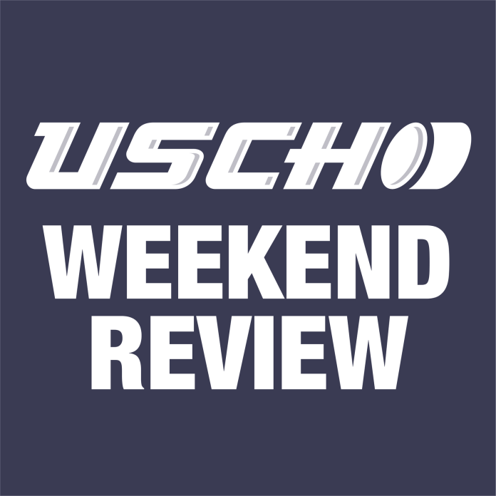 Boston College, North Dakota sweep; Cornell sees its first loss; Providence/UMass Lowell split: Weekend Review podcast Season 2 Episode 10