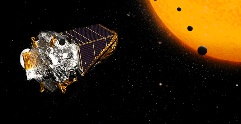 This AI allows you to use Kepler's data to find exoplanets. Image Credit: NASA