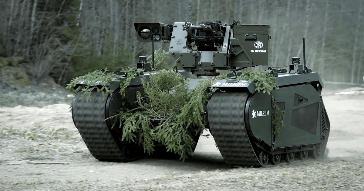 this tank like machine