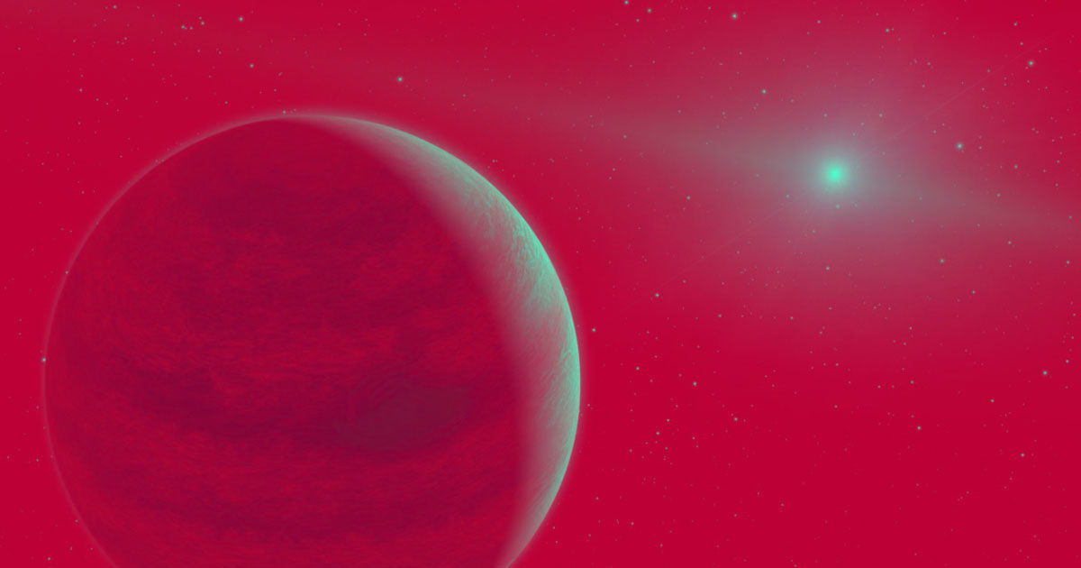 newly discovered exoplanet is