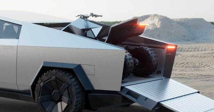 Tesla Cyberquad will be the safest ATV in the world.